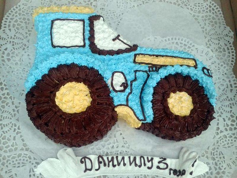Торт для мальчика 2 лет своими руками 2