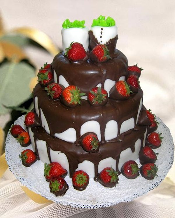 Торт фруктовый за заказ фото